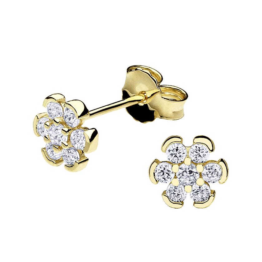 Zlatarna Kletuš - Gold earrings